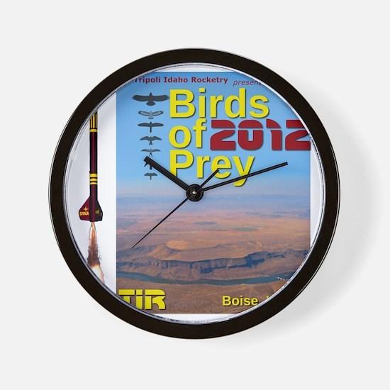 Birds of Prey 2012 Wall Clock