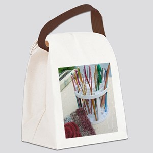 Work Room Haven Canvas Lunch Bag