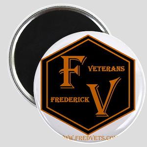 FredVets TShirt Logo Magnet
