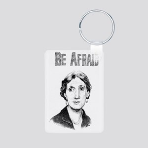 Whos Afraid? Aluminum Photo Keychain