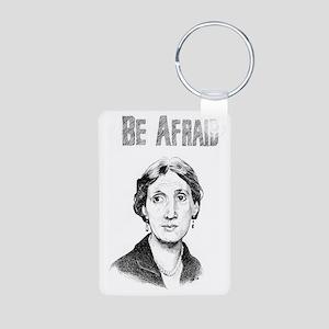 Whos Afraid? Aluminum Photo Keychain