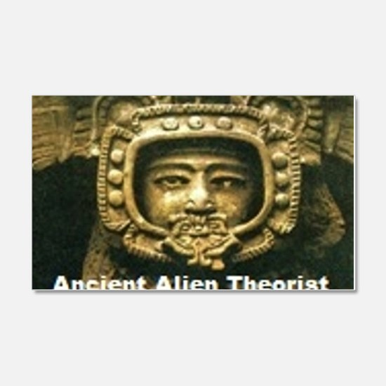 Ancient Alient Theorist Wall Decal