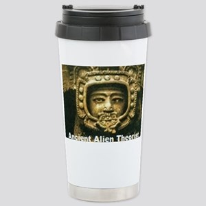 Ancient Alient Theorist Stainless Steel Travel Mug