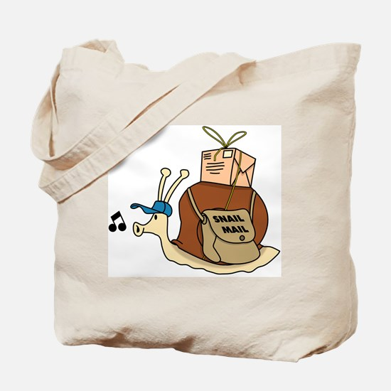 Snail Mail Tote Bag
