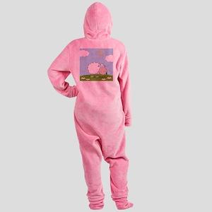 0026_Sheep30 Footed Pajamas