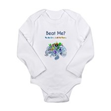Billiard Sea Dragons Long Sleeve Infant Bodysuit