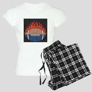 football-flame2-PLLO Women's Light Pajamas