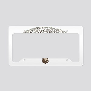 deer-tree-CAP License Plate Holder