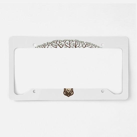 deer-tree-CAP License Plate Holder