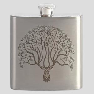 deer-tree-T Flask