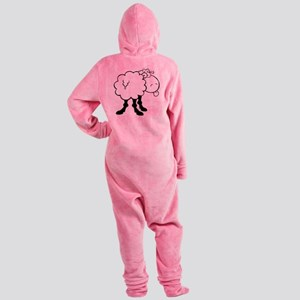 0013_Sheep14 Footed Pajamas