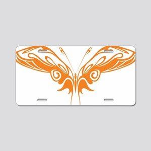 0124_Butterfly131 Aluminum License Plate