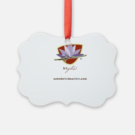 Let it Flow Bag Ornament