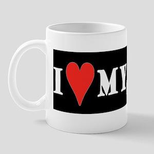 army sticker Mug