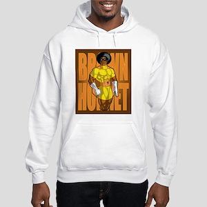 Brown hornet Hooded Sweatshirt