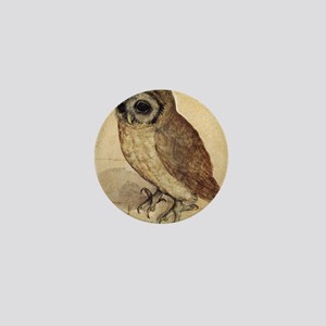Albrecht Durer The Little Owl Mini Button