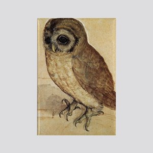 Albrecht Durer The Little Owl Rectangle Magnet