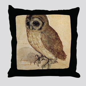 Albrecht Durer The Little Owl Throw Pillow