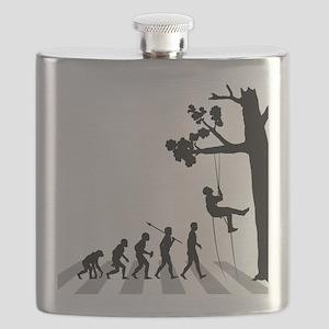 Tree-Climbing Flask