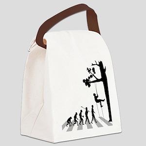 Tree-Climbing Canvas Lunch Bag