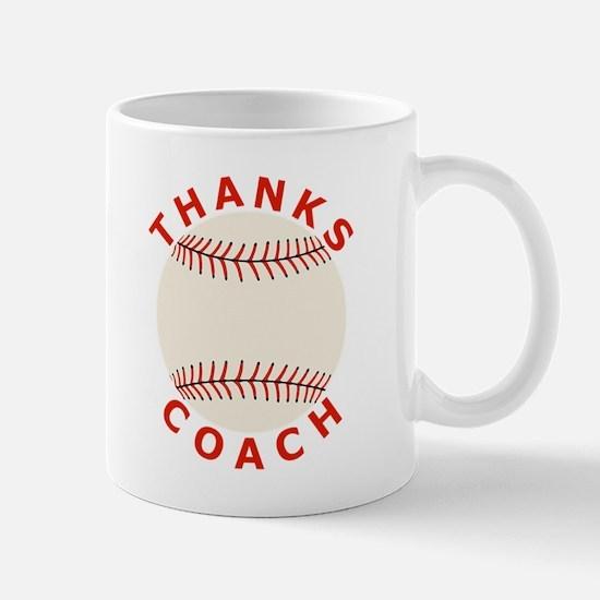 Baseball Thanks Coach Mug