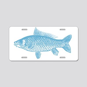 Holy Mackerel Aluminum License Plate