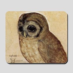 Albrecht Durer The Little Owl Mousepad