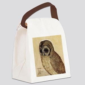 Albrecht Durer The Little Owl Canvas Lunch Bag