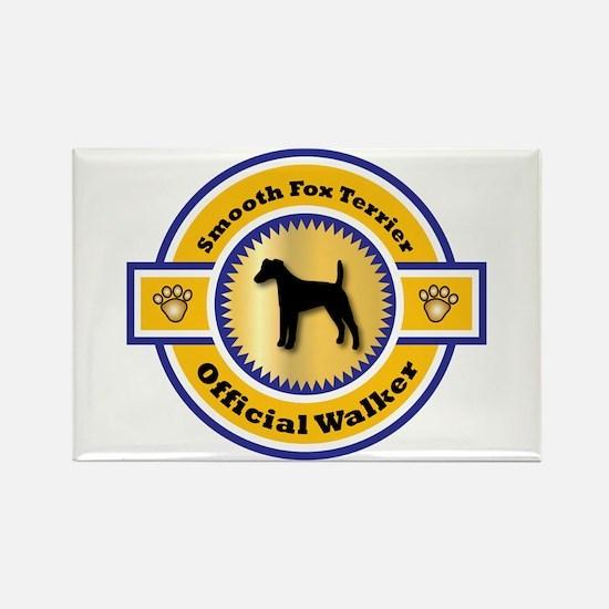 Terrier Walker Rectangle Magnet (100 pack)