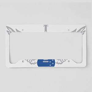 e-guitar wings License Plate Holder