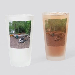 Boundary Waters Campsite Drinking Glass