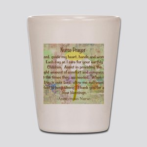 Nurse Prayer Blanket Size Yellow Shot Glass