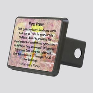 Nurse prayer blanket PINK Rectangular Hitch Cover