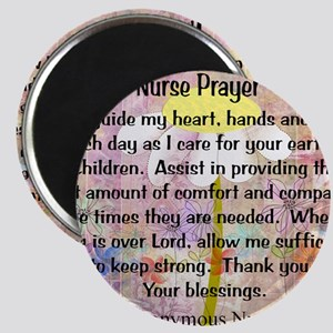 Nurse prayer blanket PINK Magnet