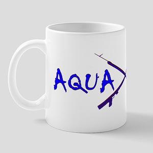 AQUA CULTURE SPEARGUNS BLUE PURPLE Mug