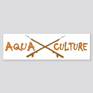 AQUA CULTURE SPEARGUNS ORANGE OLI Sticker (Bumper)