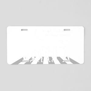 Dont-Follow-Me-Follow-Jesus Aluminum License Plate
