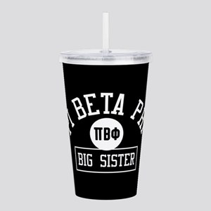 Pi Beta Phi Big Sister Acrylic Double-wall Tumbler