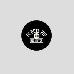 Pi Beta Phi Big Sister Personalized Mini Button