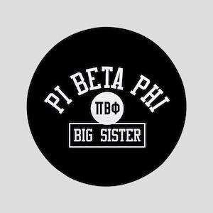 "Pi Beta Phi Big Sister Personalized 3.5"" Button"
