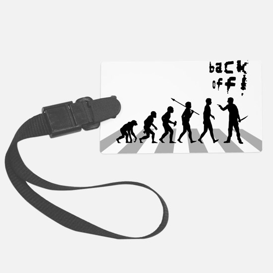 Back-Off Luggage Tag