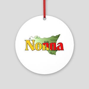 Nonna Ornament (Round)
