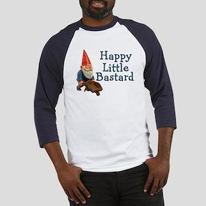 Happy little bastard Baseball Jersey