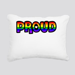 Proud of my Son Rectangular Canvas Pillow