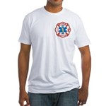 Masonic Fire, Rescue and EMT Fitted T-Shirt
