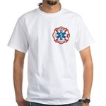 Masonic Fire, Rescue and EMT White T-Shirt