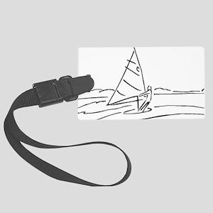 00013_Sailing15 Large Luggage Tag