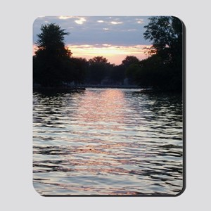 Indian lake Sunset Mousepad