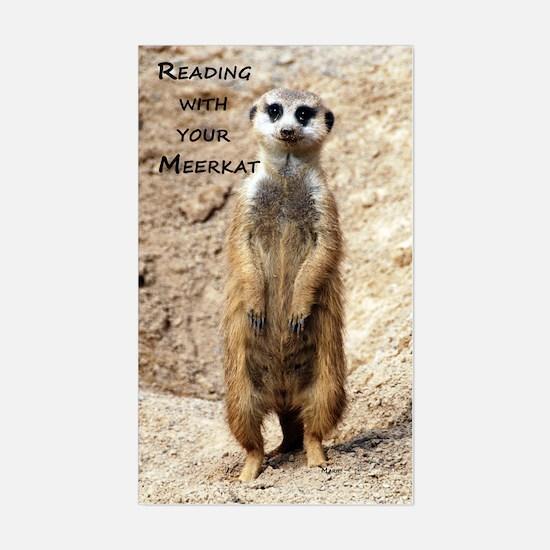 Meerkat Sticker (Rectangle)