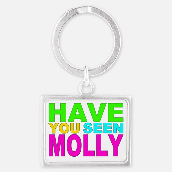 Have you Seen Molly Shirt Landscape Keychain